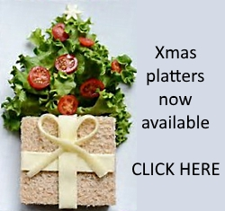 Christmas event catering