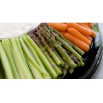 Crudites - Vegan options at Capital Caterers