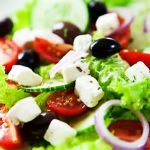 Greek Salad at Capital Caterers