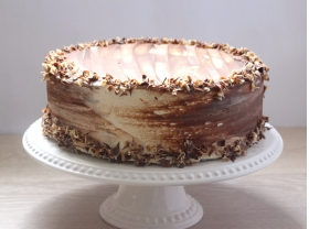 Gluten free chocolate courgette cake by Capital Caterers