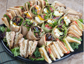 Sandwich Platter Delivery for 10 people