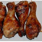 BBQ Chicken Drumstick Platter