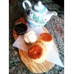 Cream Tea with Scones, Clotted Cream & Jam