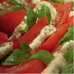 Tricolore Salad at Capital Caterers