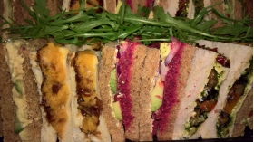 Vegan Sandwich Delivery by Capital Caterers